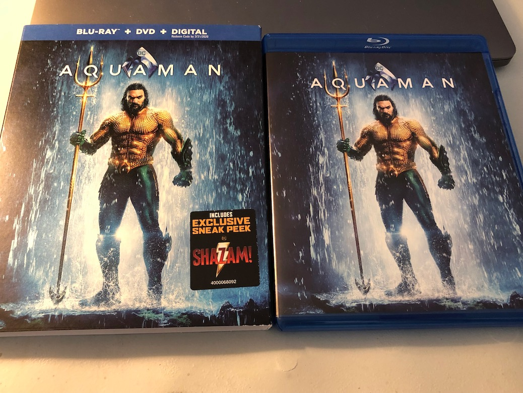 'Aquaman' Blu-Ray Giveaway From CinemAddicts!!!